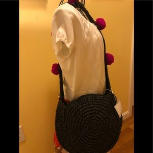SHIRALEAH NWT Black rio shoulder bag